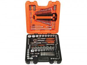 Bahco S138 Socket Set of 138 Metric 1/4in, 3/8in, & 1/2in