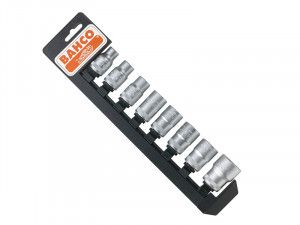 Bahco, 1/2in Drive Socket Set + Rail