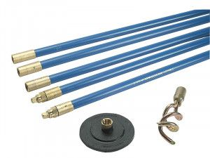 Bailey 1323 Lockfast 3/4in Drain Rod Set 2 Tools