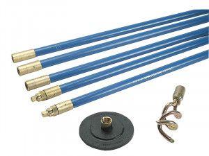 Bailey 1323 Lockfast 3/4in Drain Rod Set 2 Tools