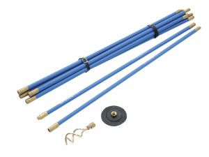 Bailey 1470 Universal 3/4in Drain Rod Set 2 Tools