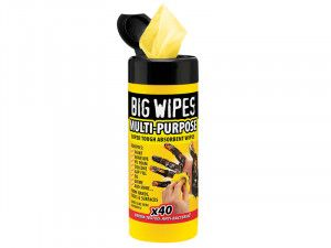 Big Wipes Industrial Multi-Purpose Wipes Tub of 40