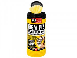 Big Wipes, 4x4 Multi-Purpose Cleaning Wipes