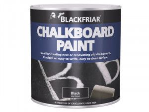 Blackfriar, Chalkboard Paint