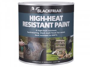 Blackfriar, Heat Resistant Paint