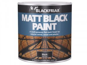Blackfriar, Matt Black Paint