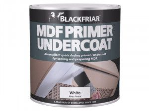 Blackfriar, Quick Drying MDF Acrylic Primer Undercoat