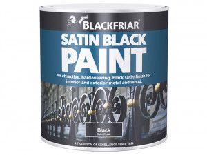 Blackfriar, Satin Black Paint