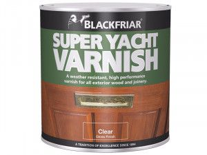 Blackfriar, Super Yacht Varnish