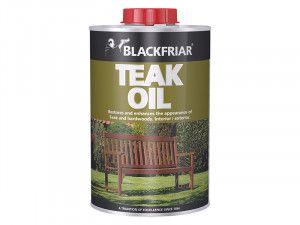 Blackfriar, Teak Oil