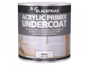 Blackfriar, Quick Drying Acrylic Primer Undercoat