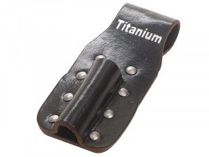BiMetal Single Leather Holster