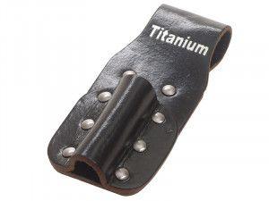 BiMetal Single Leather Holster
