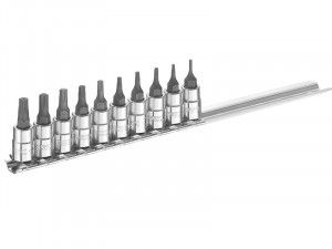 Expert Socket Set of 10 Torx 1/4in Drive