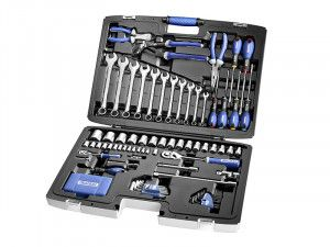 Expert Multi-Tool Set of 124 Metric 1/4 & 1/2in Drive