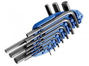 Expert Hexagon Key Short Arm Set of 10 Metric (1.5-10mm)