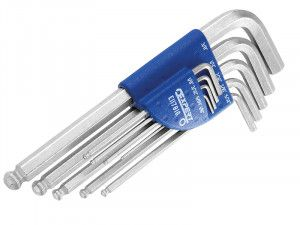 Expert, Hex Key Set 9 Piece Long Arm Ball End