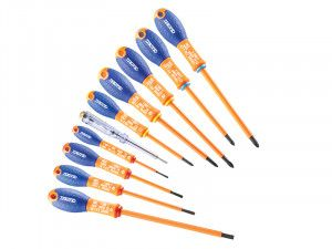 Expert E160912 Insulated Screwdriver Set of 10 Piece