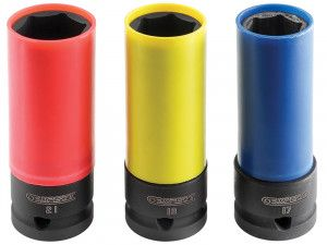 Expert Deep Impact Socket 1/2in Drive Set of 3