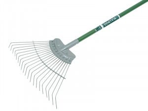 Bulldog Evergreen Lawn Rake Aluminium Shaft