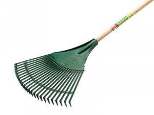 Bulldog BPR Plastic Leaf Rake Ash Shaft