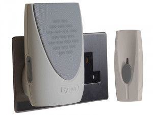 Byron BY202 Wireless Plug-In Door Chime Kit 100m