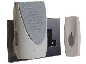 Byron BY202 Wireless Plug-In Door Chime Kit 100m