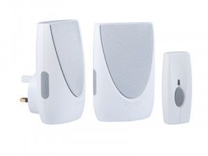 Byron BY212 Wireless Port & Plug-In Chime Kit 100m