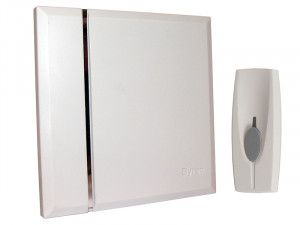 Byron BY401W Wireless Wall Mounted Chime Kit 60m
