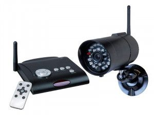 Byron C961DVR Wireless Digital Recorder Camera Set