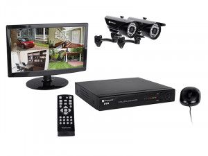 Byron DVR724S 4 Channel HD CCTV System