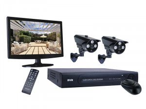 Byron DVR728S 8 Channel HD CCTV System