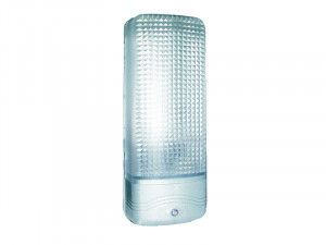 Byron ES81A Plastic Security Light Chrome