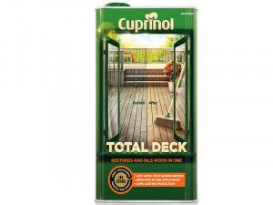 Cuprinol, Total Deck Restore & Oil Wood Clear