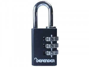 DEFENDER, Diecast Combination Padlocks