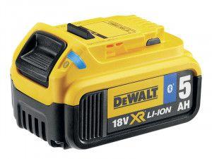 DEWALT, DCB18 Bluetooth XR Slide Li-ion Battery Pack