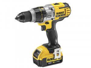 DEWALT DCD985M2 XRP Premium Combi Hammer Drill 18V 2 x 4.0Ah Li-Ion