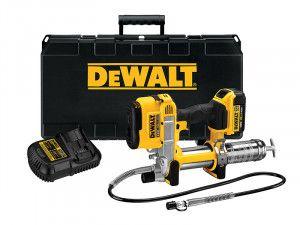 DEWALT DCGG571M1 Cordless XR Grease Gun 18V 1 x 4.0Ah Li-Ion