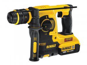 DEWALT DCH254 M2 SDS Plus 3 Mode Hammer Quick Change Chuck 18V 2 x 4.0Ah Li-Ion