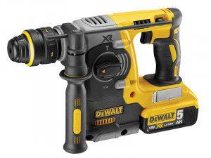DEWALT DCH274P2 Brushless XR 3 Mode Quick Chuck Hammer 18V 2 x 5.0Ah Li-Ion