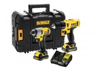 DEWALT DCK218D2T XR Twin Pack 10.8V 2 x 2.0Ah Li-Ion