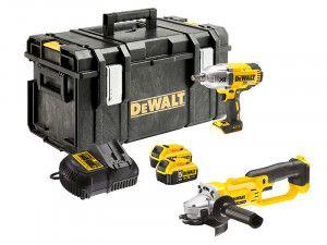 DEWALT DCK269P2 XR Twin Pack 18V 2 x 5.0Ah Li-Ion