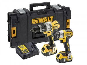 DEWALT DCK276P2 Brushless Twin Pack 18V 2 x 5.0Ah Li-Ion