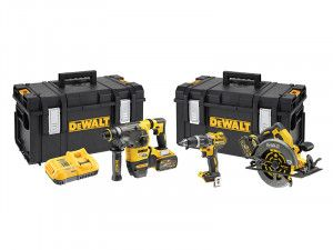 DEWALT DCK357T2 FlexVolt 3 Piece Kit 18V 2 x 18/54V 6.0/2.0Ah Li-Ion