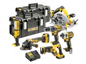 DEWALT DCK623P3 18V XR Brushless, 6 Piece Kit