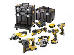 DEWALT DCK654P3T XR Compact TSTAK™ Kit 6 Piece 18V 3 x 5.0Ah Li-Ion