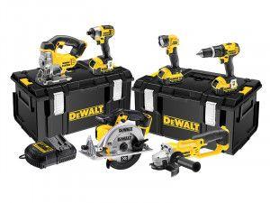DEWALT DCK691M3 Cordless 2 Speed 6 Piece Kit 18V 3 x 4.0Ah Li-Ion