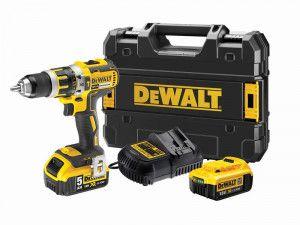 DEWALT DCKD795PM XR 2 Speed Combi Drill 18V 1 x 4.0Ah & 1 x 5.0Ah Li-ion