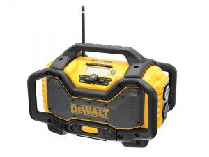 DEWALT DCR027 FlexVolt XR Radio Charger 240V & Li-Ion Bare Unit