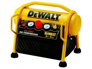 DEWALT DPC6MRC Mini Roll Cage Compressor 6 Litre 1100W 240V